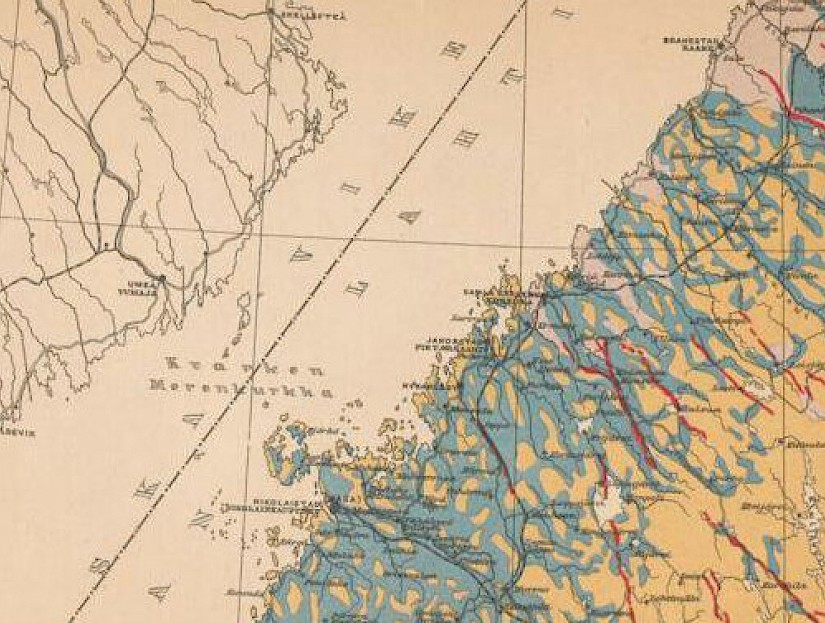 The Ostrobothnia area at the turn of the 20th century